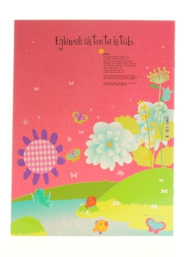 Çiçek Yayıncılık Eğlenceli Aktivite Kitabı-Prensesler Eğleniyor Renkli